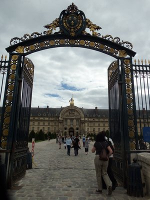 Entrance to les Invalides