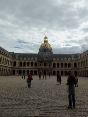 Courtyard of Les Invalides