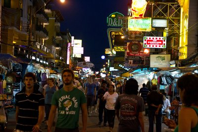 Khao San Road - The Backpacker's Mekka