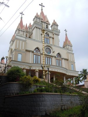 One of many Syrian Christian Churches in Kerela