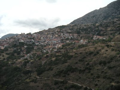Arachova from Afar