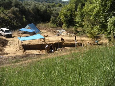 Ongoing Excavations in Olympia