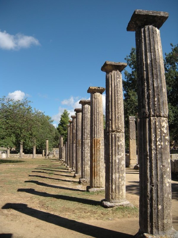 Ancient Olympic Gymnasium