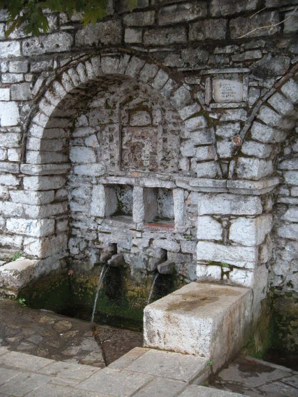 Fountain in Andritsena