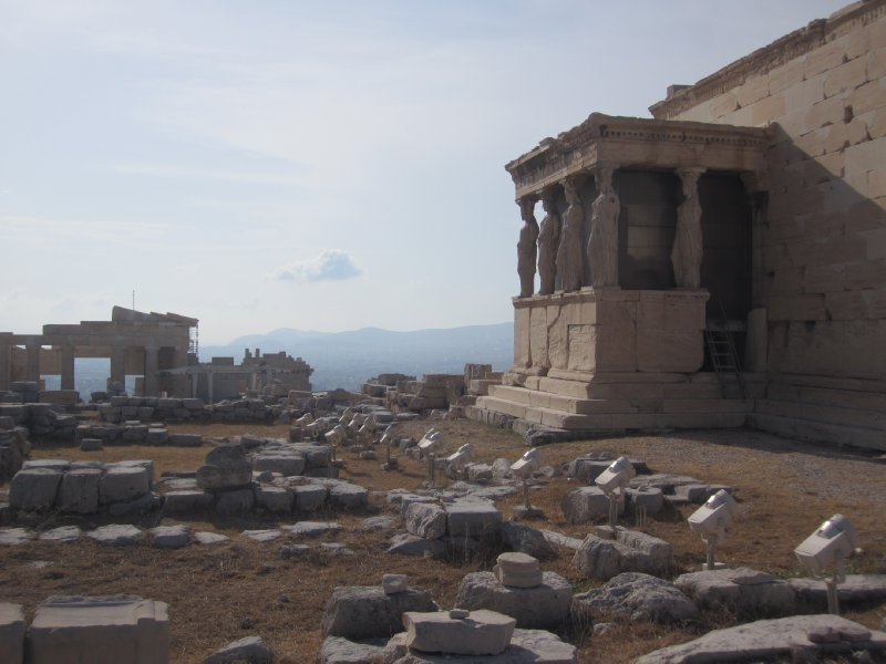 View from atop the Acropolis