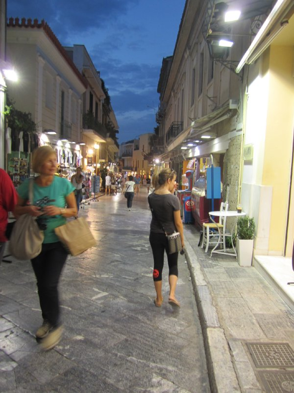 Wandering Shops on Adrianou Street