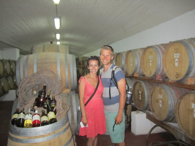 In the Wine Cellar