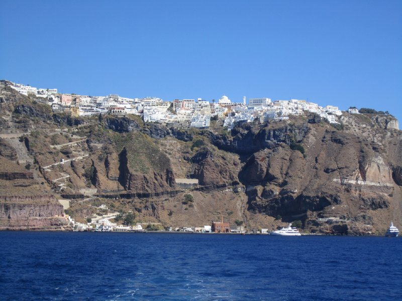 Fira from the Water