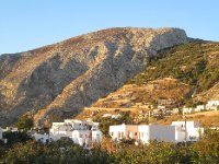 Winding Hill Up to Ancient Thira