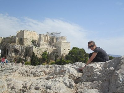 Acropolis in the Background