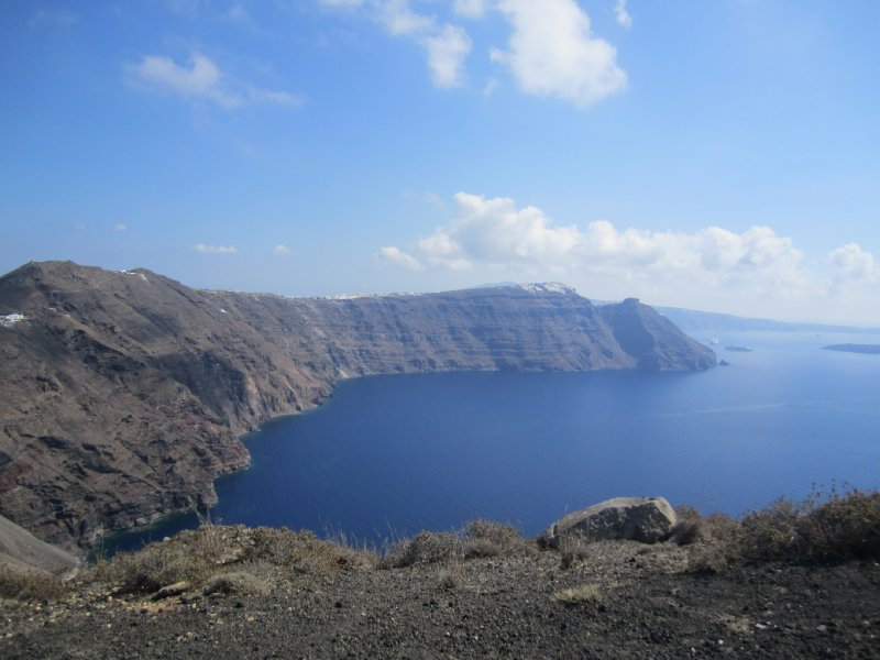 The caldera.. we walked all of this!!!