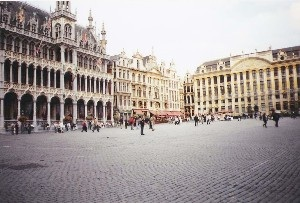The Grote Market in Brussels