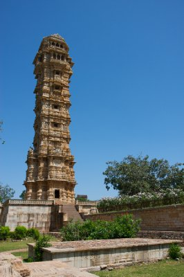One of the hundred or so mountain top temples in Chittorgarh