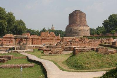 Sarnath, where Buddha gave his first speech