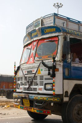Colourful truck, Rajasthan, India