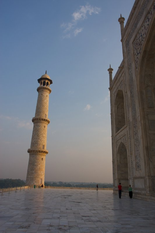 Taj Mahal at dawn...