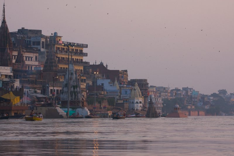 Ghats at dawn...