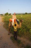 Me on a camel...