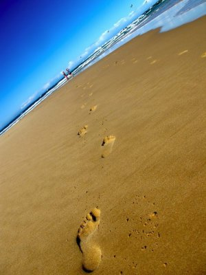Sardinia Bay footprints 2