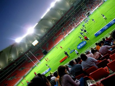 Nelson Mandela Bay Stadium Rugby Game