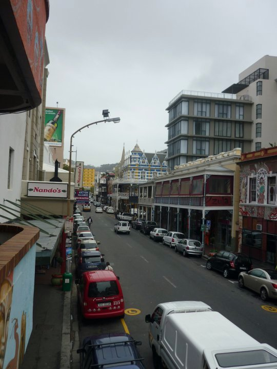 Long Street in Cape Town