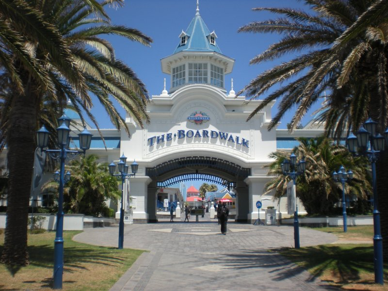 The Boardwalk Entrance
