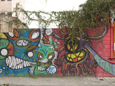 More 'street art'