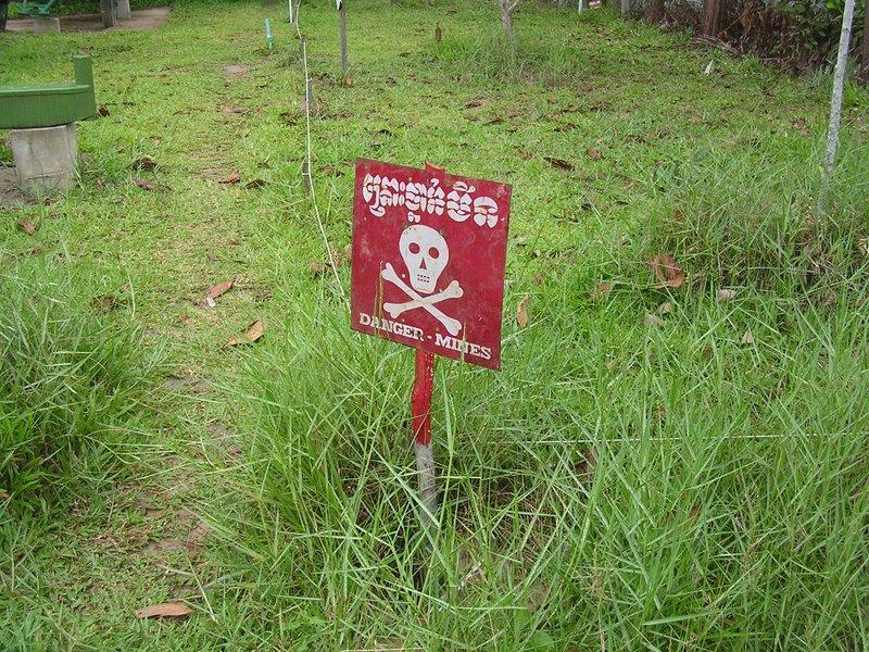 Danger - mines