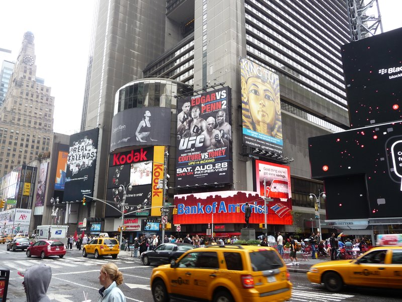 Part of Times Square
