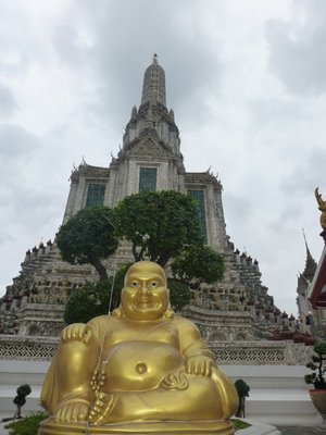 Wat Arun and Buddha