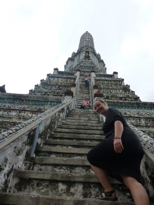 Wat Arun Staircase