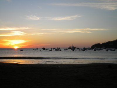 San Juan Del Sur Beach Sunset