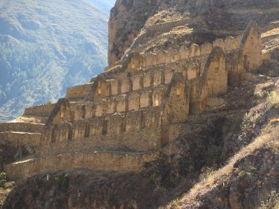 Ruins in Ollantaytambo