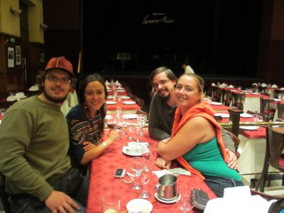 Night Out at a Tango Show With Friends