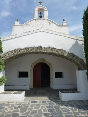 18th century church in Portlligat