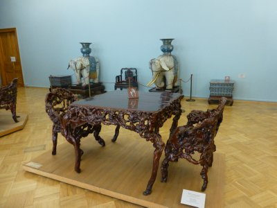 Root Furniture at the Hermitage