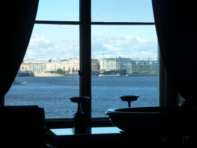 View of St. Petersburg from the Hermitage