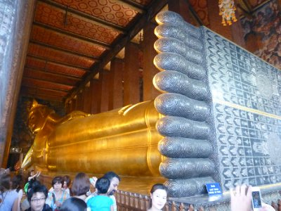Reclining Buddha at Wat Pho Temple