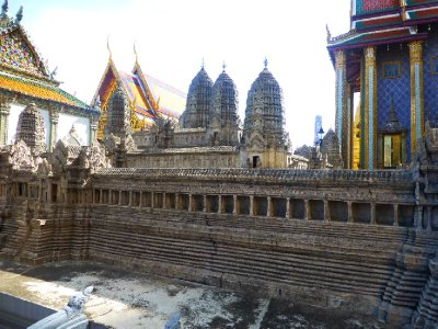Model of Angkor Wat at the Grand Palace
