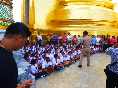 Class at the Grand Palace