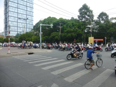 So Many Motorbikes in Vietnam