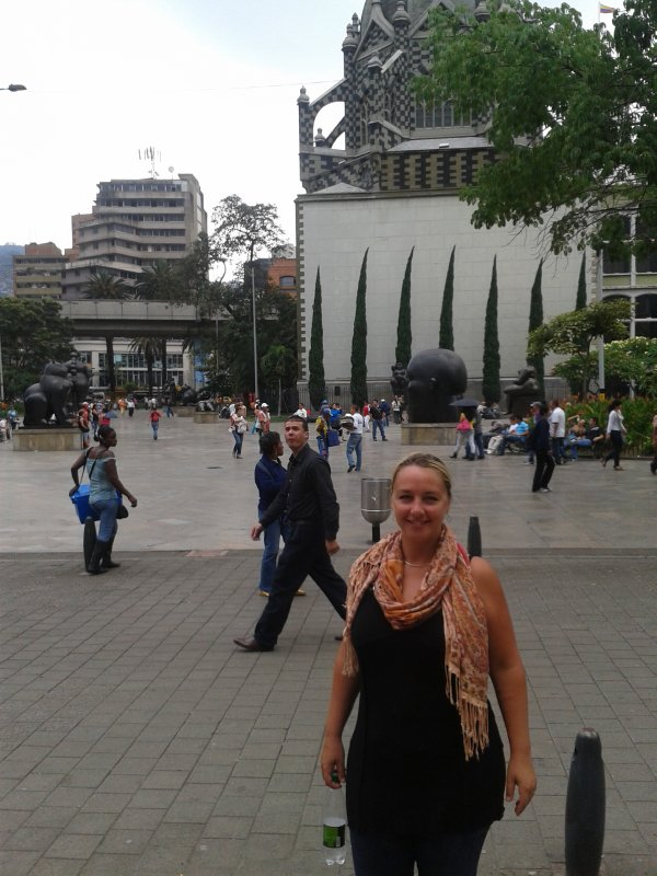 Square in Medellin