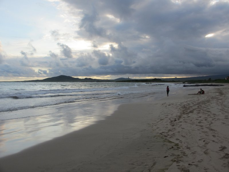 Beach in Galapagos