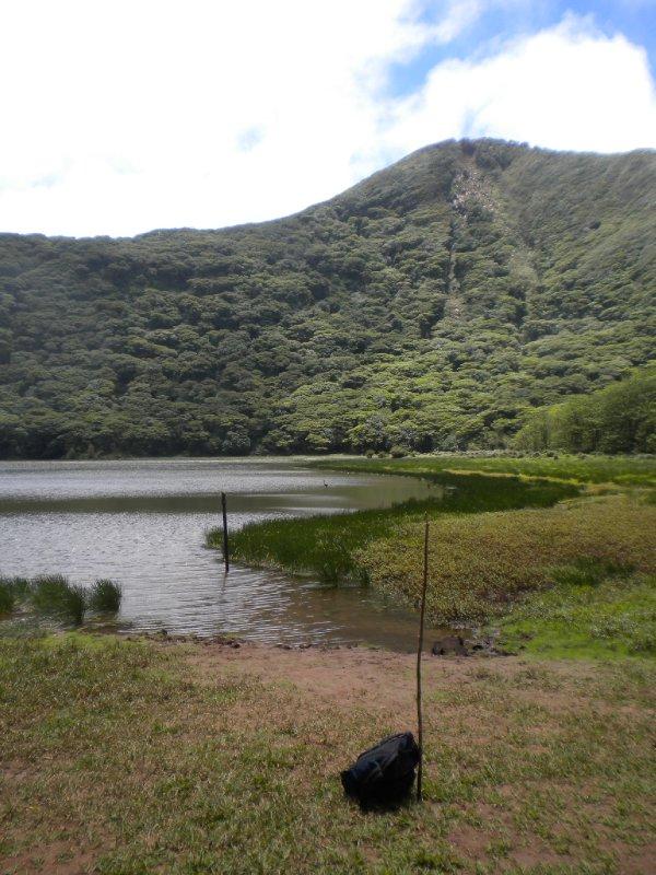 Caldera in Volcano Maderas