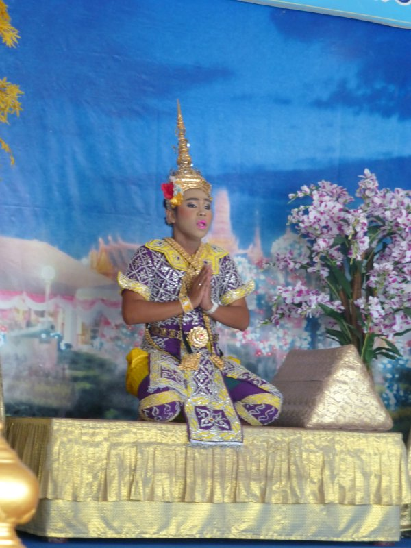 Dancing at State Temple of Bangkok