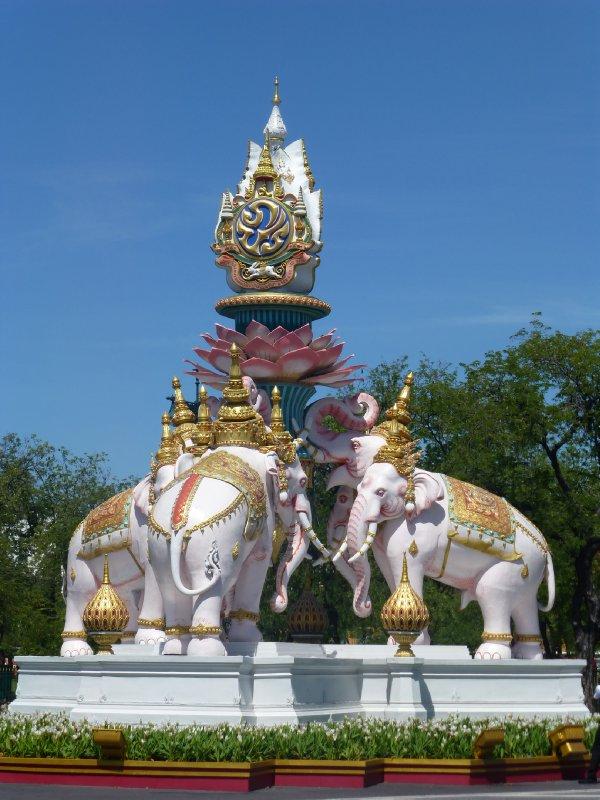 Elephant Statue in Bangkok