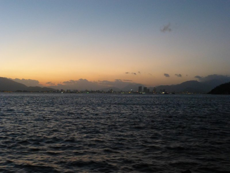 Sunset over Nha Trang