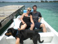 Boat ride to Water Cay