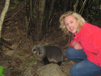 Laura and seal