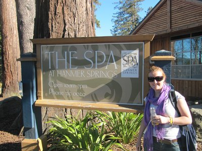 Pip at the Spa
